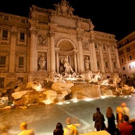 Řím - noční fotografie