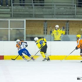 AHL 14-15: HC Včelary - HC Dynamo Slovácko