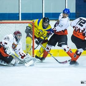 AHL 15-16: HC Včelary - HC Plameny Vnorovy