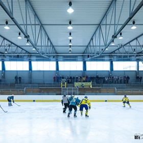 AHL 15-16: HC Včelary - HC Žraloci Mistřice - 1. semifinále
