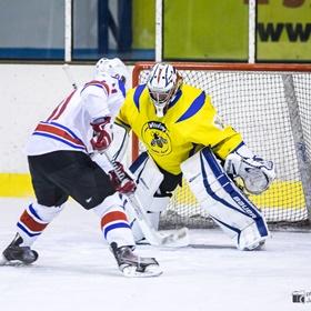 AHL 16-17: HC Včelary - HC LEV Strání