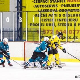 AHL 16-17: HC Včelary - HC Sharks Mistřice, 2. ČF