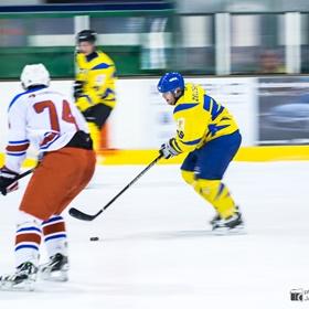 AHL 16-17: HC Včelary - HC LEV Strání, 1. SF