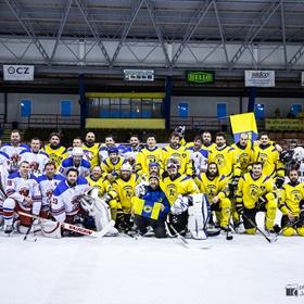 AHL 16-17: HC Včelary - HC LEV Strání, 2. SF