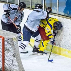 AHL 17-18: HC Včelary - HC Kohůti Bánov