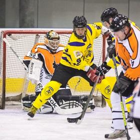 AHL 17-18: HC Včelary - HC Dynamo Slovácko