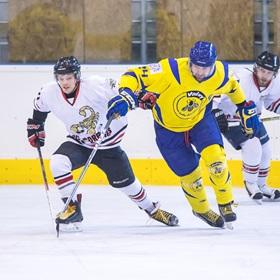 AHL 17-18: HC Včelary - HC Scorpions, 1. SF