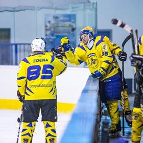 AHL 18-19: HC Včelary - HC Plameny Vnorovy