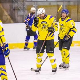 AHL 18-19: HC Včelary - HC Piráti Lagunators, 1. ČF