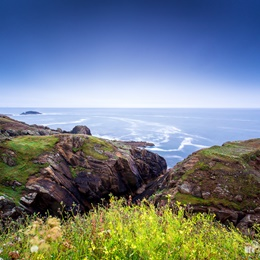 Cliffs of Pointe Saint-Mathieu