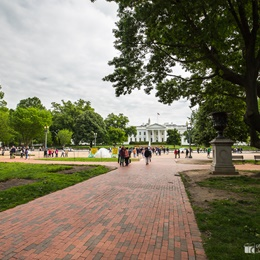 Lafayette Square and White House