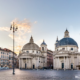 Twin Churches - Piazza del Popolo