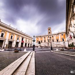 Piazza del Campidoglio - Capitoline Hill